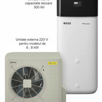HPSU  Compact sistem BIVALENT (Aer-Apa) Incalzire + Apa calda + Racire